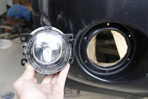Как правильно подключить противотуманные фары через реле и кнопку