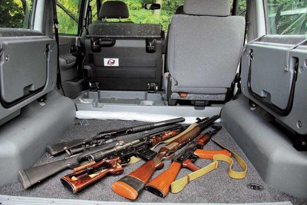 Как правильно перевозить оружие в личном автомобиле