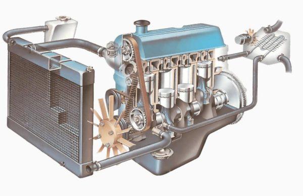 Как воздух попадает в систему охлаждения, признаки завоздушивания и способы устранения