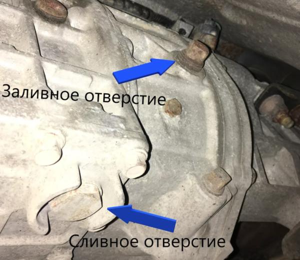 Способы проверки уровня масла в механической и автоматической коробке передач