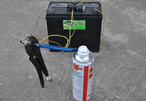 prmyvka forsunki cherez akkumuliator