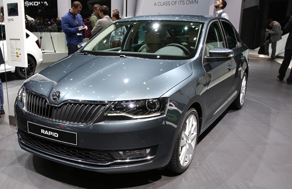 ŠKODA RAPID - самый компактный и доступный автомобиль